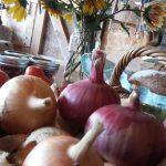 fall colors onions